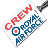 ROYAL AIR FORCE Crew Tag